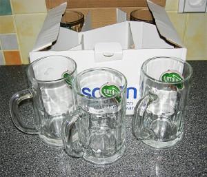 Nové skleničky