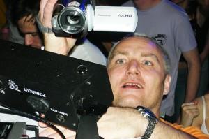 Já a kamera na E-motionu 4. 12. 2009