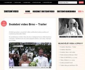 Svatební video Brno - nový design