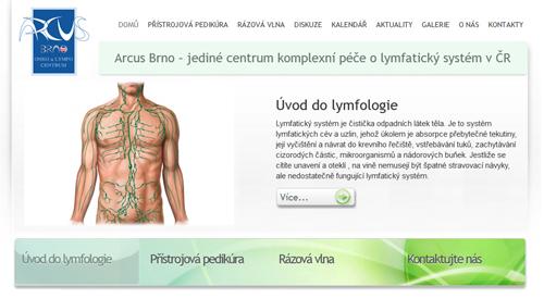 Arcus Brno – jediné centrum komplexní péče o lymfatický systém v ČR